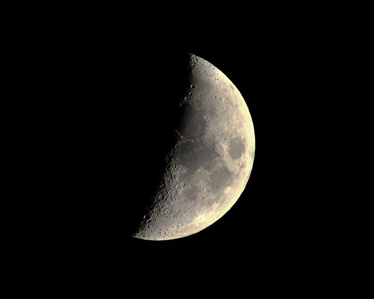 The moon at 500mm